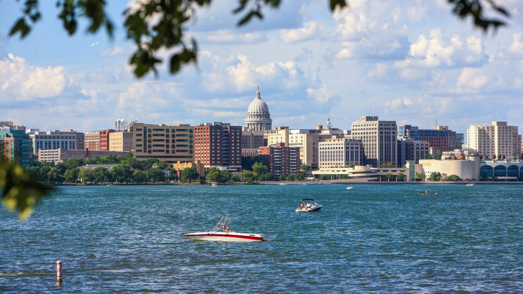 Downtown Madison, Wisconsin